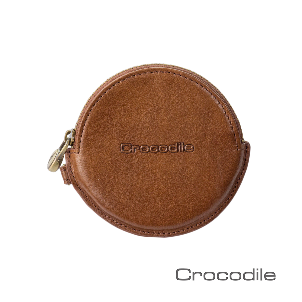 Crocodile Natural系列義大利植鞣零錢包 0103-58352