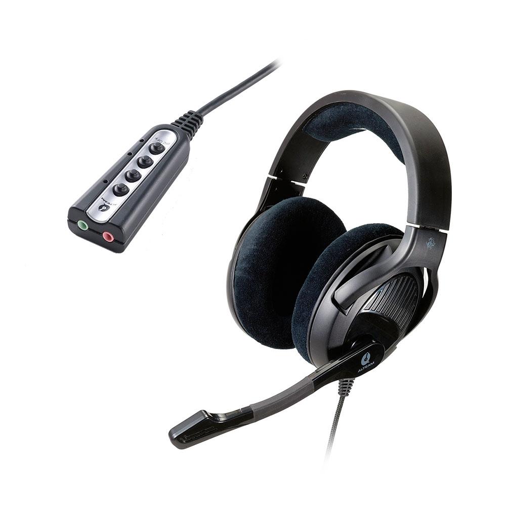 Alteam GM-592電競耳麥 + Tx-7音效卡