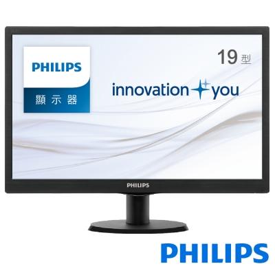 PHILIPS 193V5LSB2 19型LED寬電腦螢幕