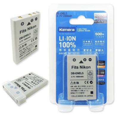 Kamera 佳美能 For NIKON EN-EL5 高容量相機鋰電池