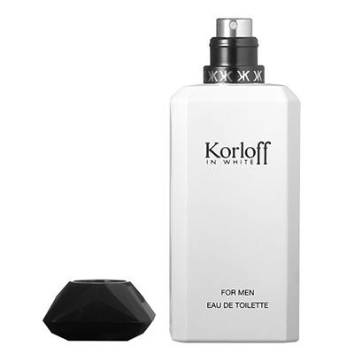 Korloff 白鑽神話 男性 (IN WHITE) 淡香水 50ml