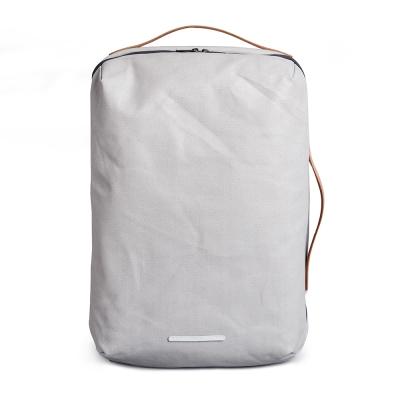 RAWROW-帆布系列-15吋三用經典後背包(後背/手提/肩背)-亮灰-RBP170GY
