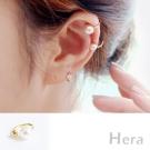 Hera 赫拉 U型珍珠無耳洞耳環/耳扣/耳骨夾-2色(二顆入)