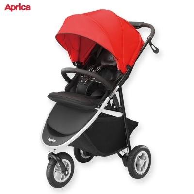 日本 Aprica 嬰兒手推車 SMOOOVE 大三輪系列 紅