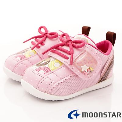 日本Carrot機能童鞋-甜甜圈學步款B1024粉(寶寶段)T
