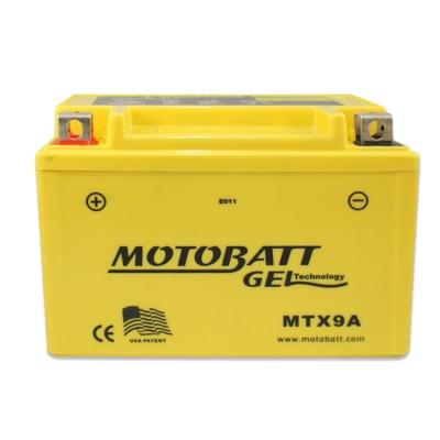 MOTOBATT MTX9A GEL膠體長效機車電池