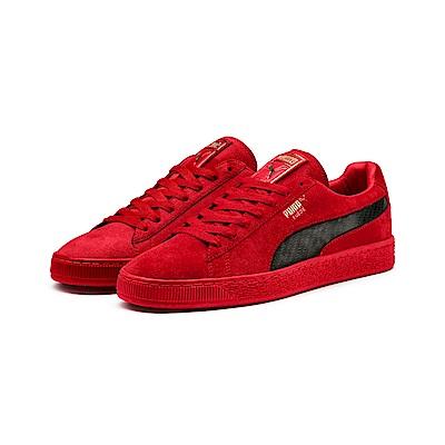 PUMA-SF Suede50男籃球鞋-法拉利紅