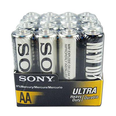 SONY 環保碳鋅ULTRA電池四號AAA (16顆入)