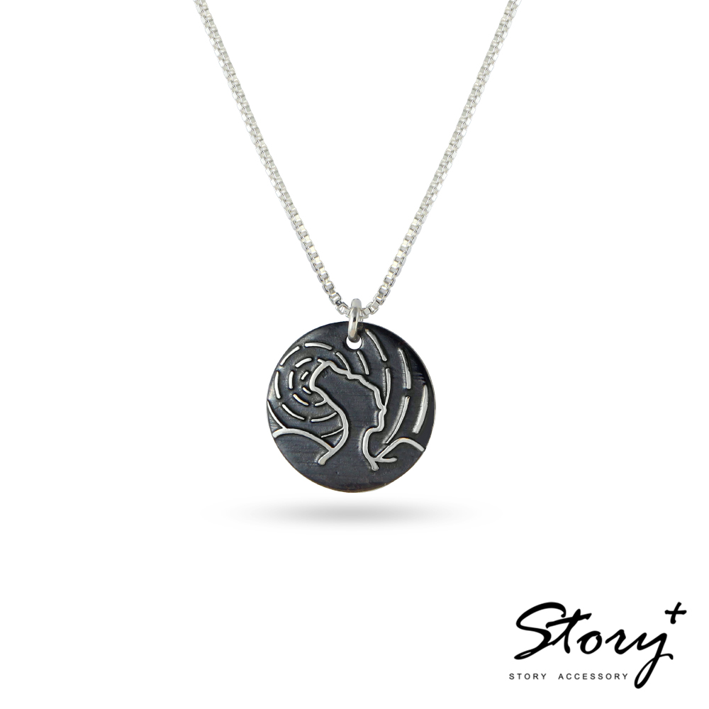 STORY故事銀飾-敬女人-女王陛下純銀項鍊