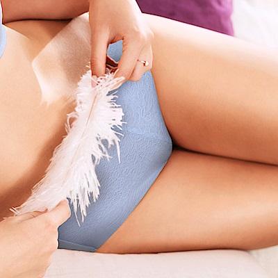 黛安芬-輕呼吸花漾系列平口內褲M-EL(質感灰)