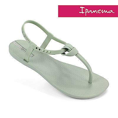 IPANEMA 甜美艾莉T字涼鞋-粉綠色