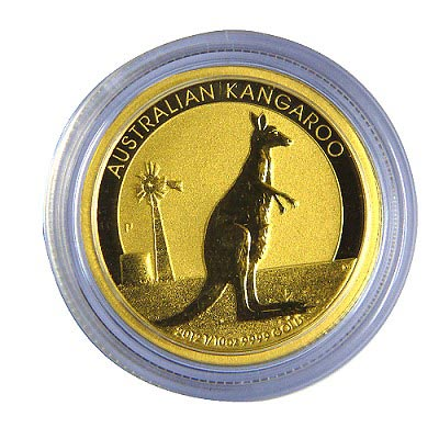 澳洲袋鼠金幣-1/10盎司(OZ)