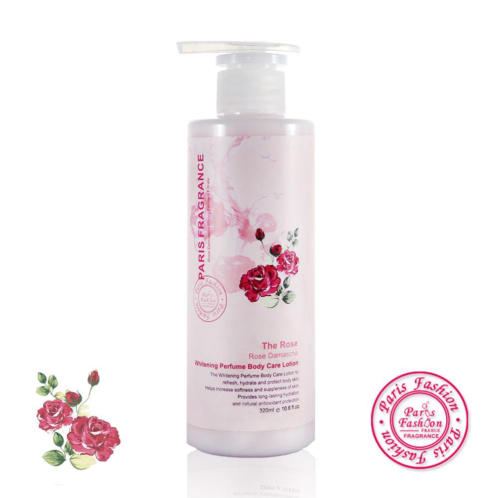 paris fragrance巴黎香氛-櫻桃C玫瑰嫩白沁涼身體保濕露320ml