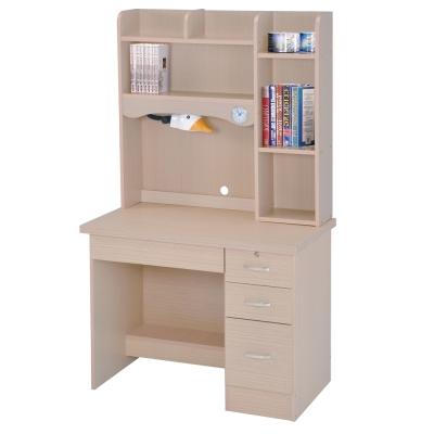 時尚屋 進興白橡色3.5x5.5尺書桌 寬104cm