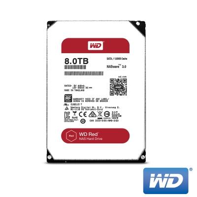 WD威騰  WD80EFZX 紅標 8TB 3.5吋NAS硬碟(NASware3.0)