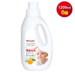優生 酵素洗衣精-橘子精華1200mlx6罐/箱