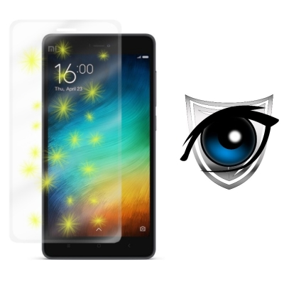 D&A Xiaomi 小米 4i (5吋)日本9H藍光疏油疏水增豔螢幕貼