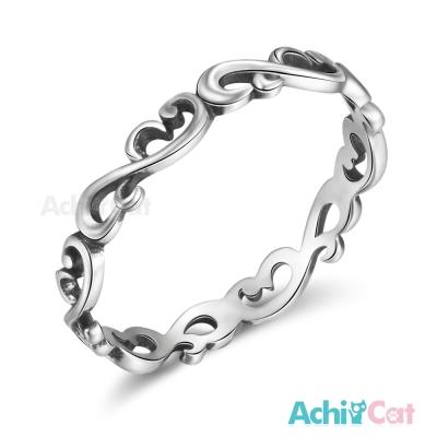 AchiCat 925純銀戒指尾戒 唯美奢華
