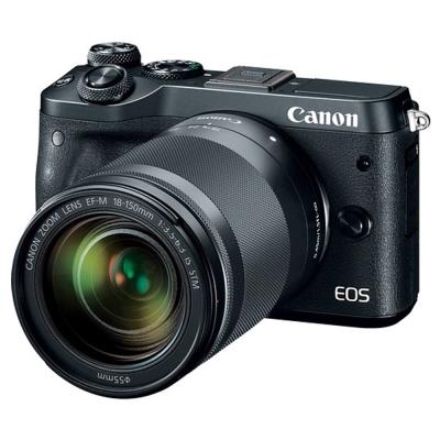 Canon EOS M6 + 18-150mm 望遠變焦鏡組 (公司貨)
