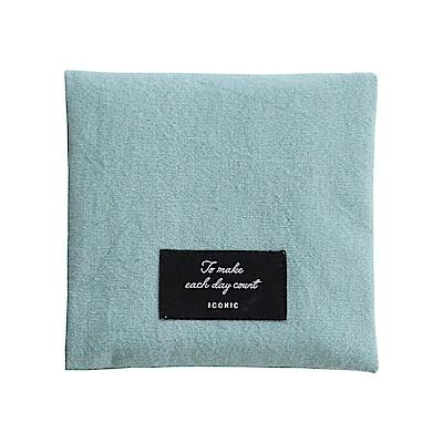 ICONIC個性女孩私密收納折疊包v2-素雅藍綠