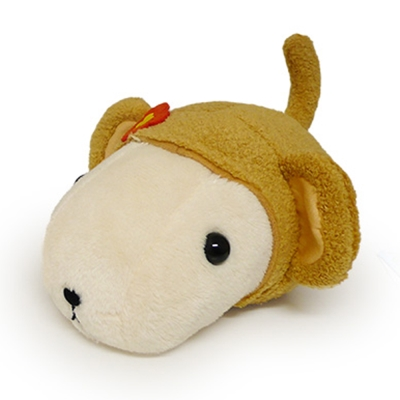 Kapibarasan 水豚君猴年變裝公仔。懷特小姐