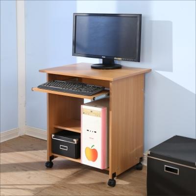 BuyJM 簡約附輪電腦桌(寬60公分)-DIY