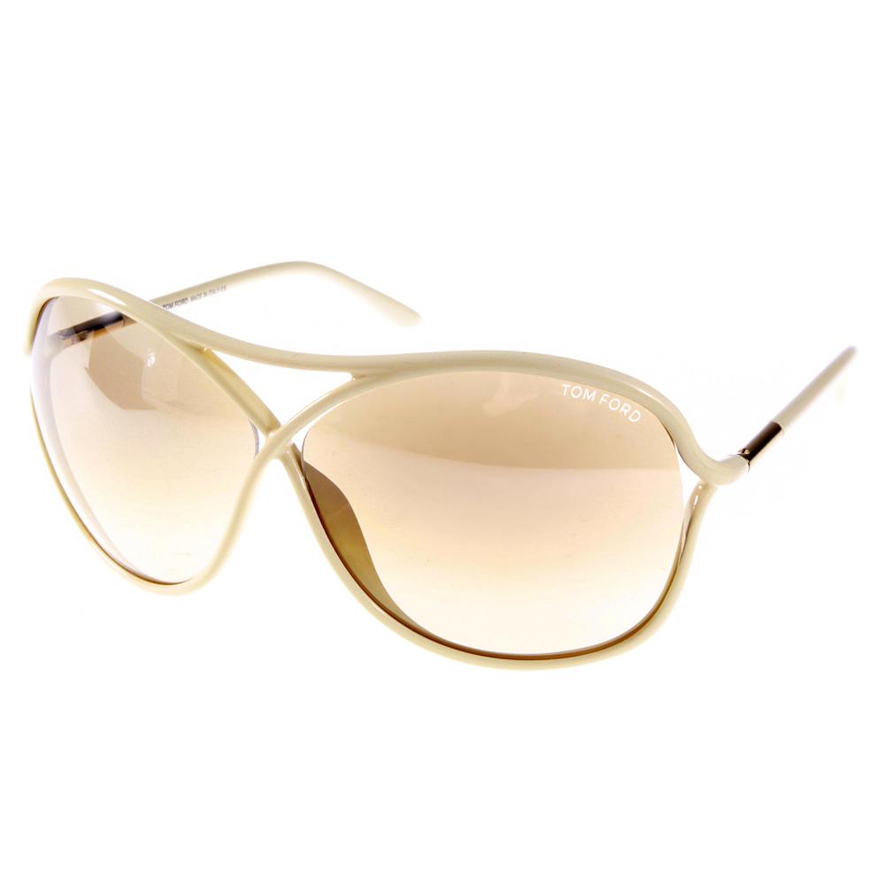 TOM FORD太陽眼鏡 經典飛官款/裸白色#TOM184 25G