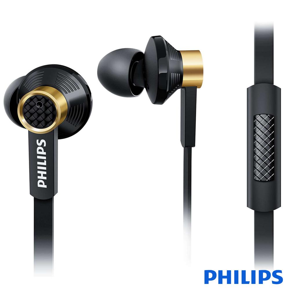 (原價2990!)PHILIPS飛利浦 Fidelio系列 耳道式耳機 附麥克風 TX2BK