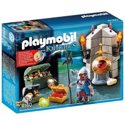 playmobil 中古騎士系列 國王的寶藏與守衛