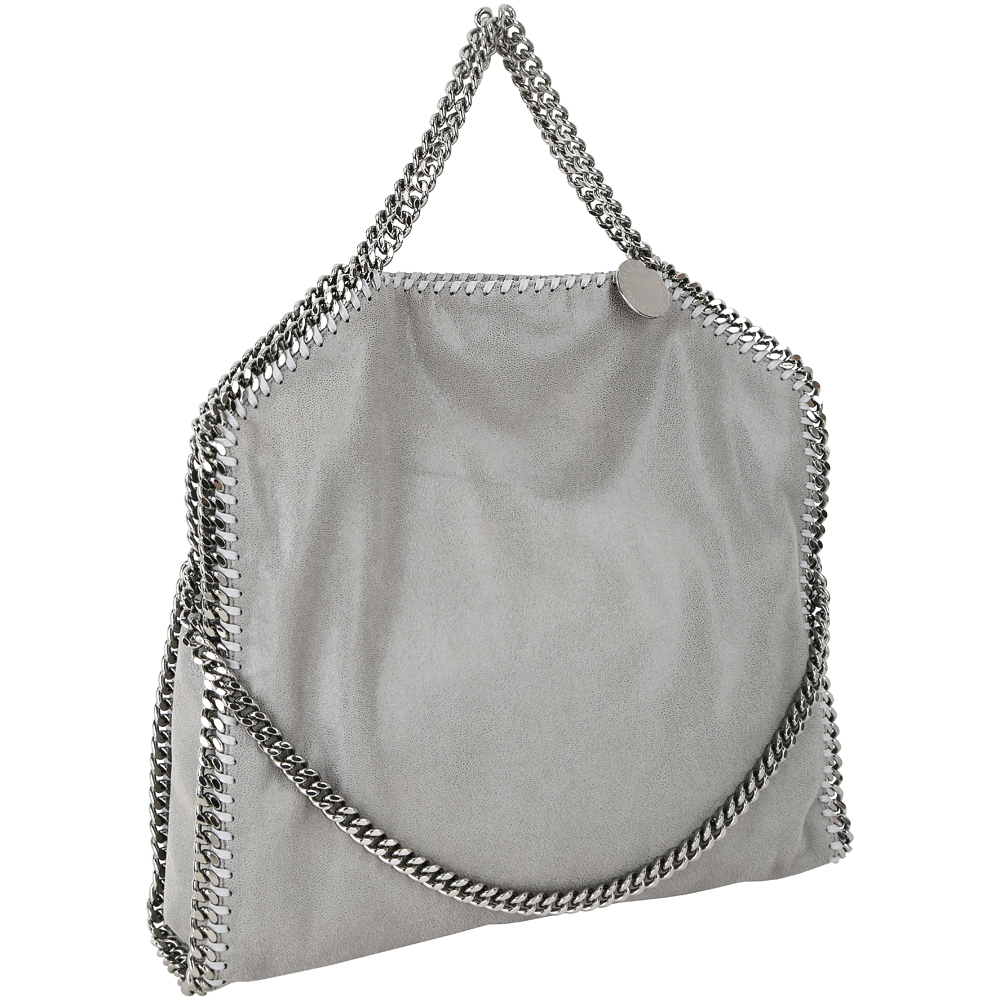Stella McCartney Falabella Shaggy 鍊帶兩用包(灰色)