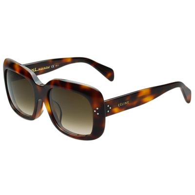 CELINE-時尚太陽眼鏡(琥珀色)