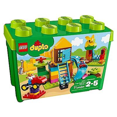 LEGO樂高 得寶系列 10864 大型遊樂場顆粒桶