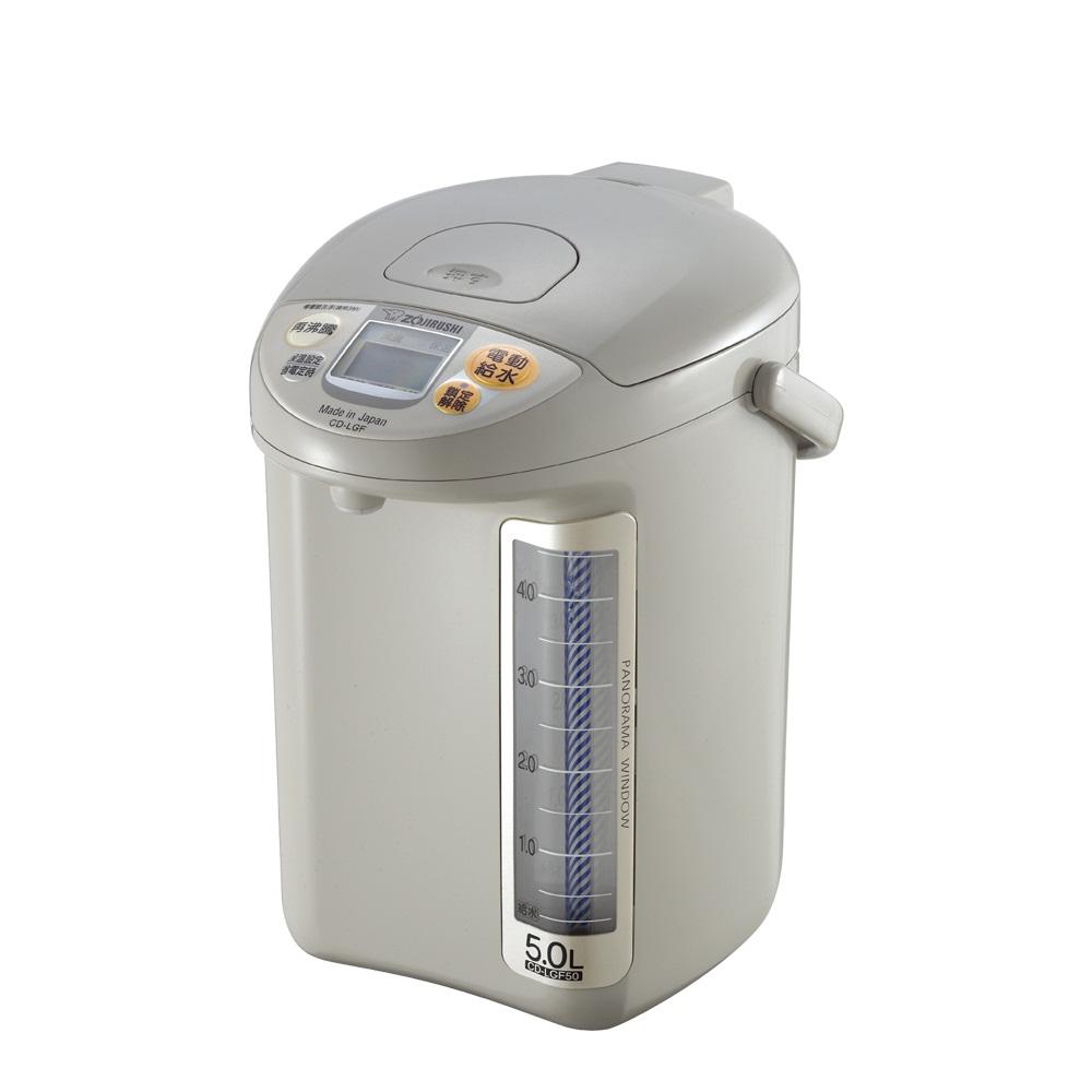 象印*5公升*寬廣視窗微電腦電動熱水瓶(CD-LGF50)