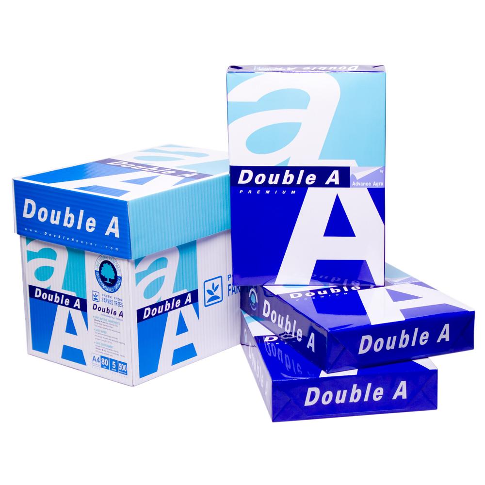 Double A 80磅多功能影印紙A4(5包/箱)