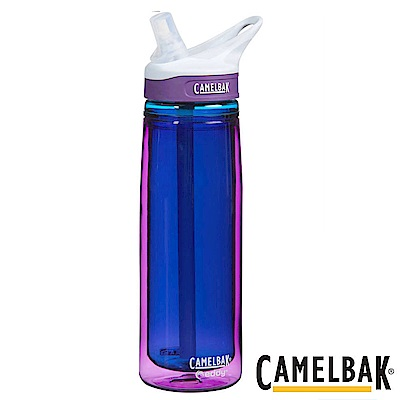 《CAMELBAK》多水雙層隔溫吸管水瓶-600ml 扶桑紫(CB53619)