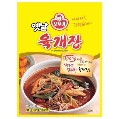OTTOGI不倒翁 辣牛肉湯(500g)