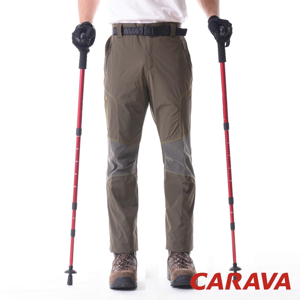 CARAVA《男登山排汗褲涼爽款》(橄綠)