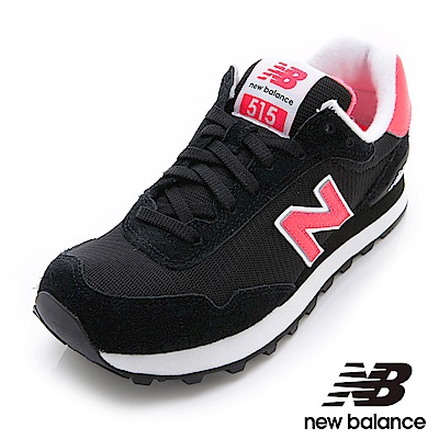 New Balance復古鞋WL515COL-B女性黑色