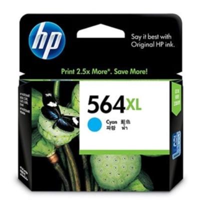HP CB323WA #564XL 原廠藍色大容量墨水匣