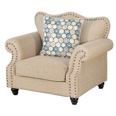 品家居-愛比布面沙發單人座-103x85x86cm