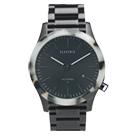ELECTRIC FW03系列-優雅精品時尚腕錶-白玳瑁x鐵灰鋼帶/40mm