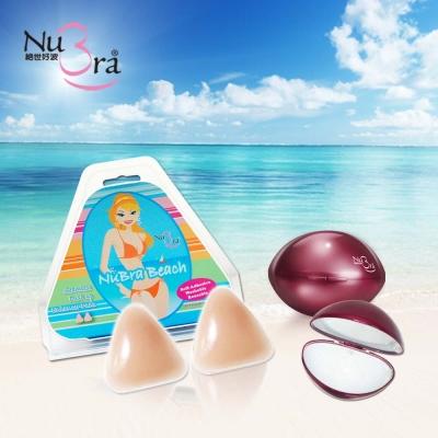 NuBra-隱形胸罩-比基尼胸墊-紅薔薇收納盒