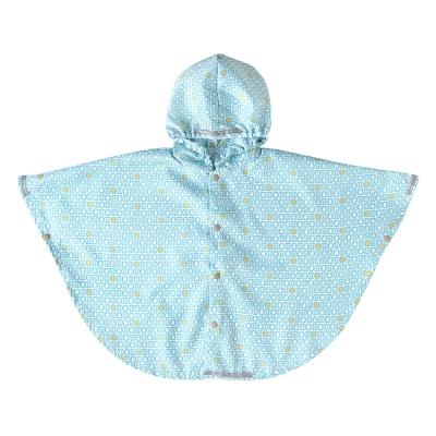 BOBO 粉彩圖騰雨衣(藍)