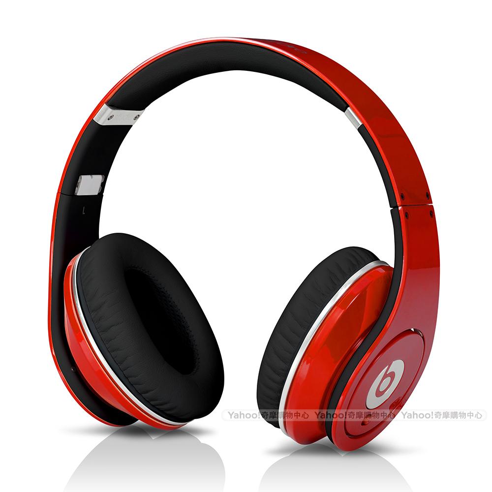 BEATS耳機 Studio 紅色 耳罩耳機 beats by dr.dre台灣代理公司貨