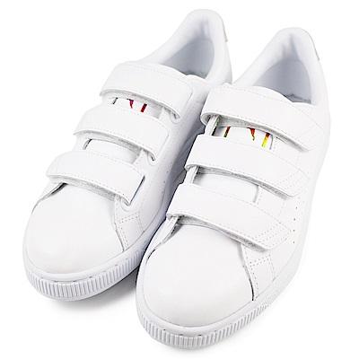 PUMA BASKET STRAP 女休閒鞋 36274103 白