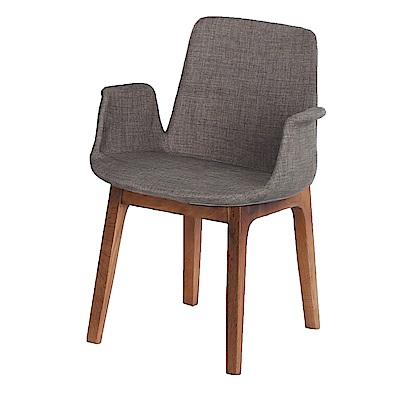 AS-奧德里奇灰色布面餐椅-54x55x80cm