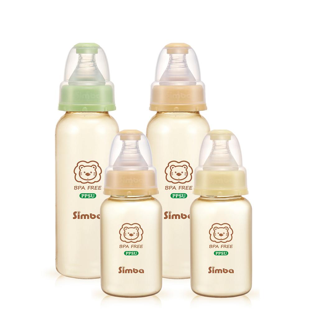小獅王辛巴 PPSU健康標準奶瓶超值組(2大2小)