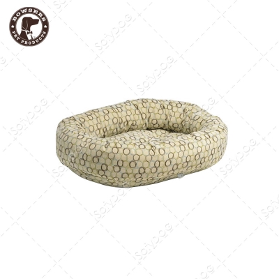 BOWSERS甜甜圈極適寵物床-套圈圈(白)-XL