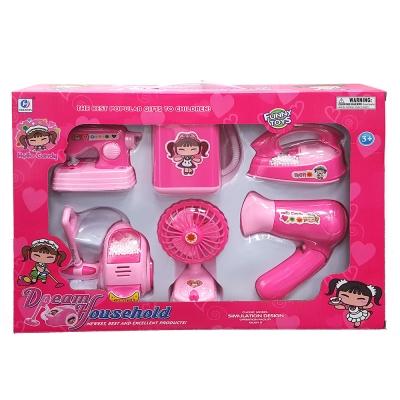 兒童玩具 家家酒系列 手提電動聲光生活家電組6入裝 878-3