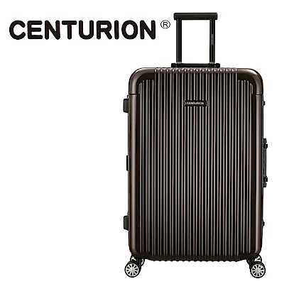 CENTURION美國百夫長26吋行李箱-洛杉磯可可lax(鋁框箱)